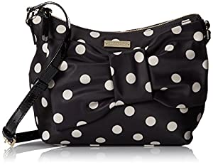 kate spade new york Petal Drive Nella Cross Body Bag,Black Multi,One Size