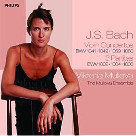 J.S. Bach: Partita for Violin Solo No.1 in B minor, BWV 1002 - 8. Double
