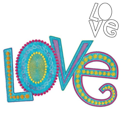 Accuquilt Go! Love By Sarah Vedeler front-415223