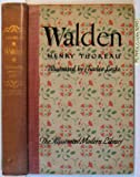 img - for Walden Illustrated Modern Library Edition book / textbook / text book