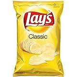 Lay's Classic Potato Chips 1 Oz. 20 Bags