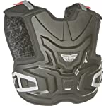 Fly Racing Body Vest Lite Youth Roost Deflector MotoX/Off-Road/Dirt Bike Motorcycle Body Armor - Black / Large/X-Large