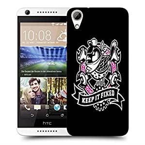 Snoogg Keep It Fixed Designer Protective Back Case Cover For HTC 626