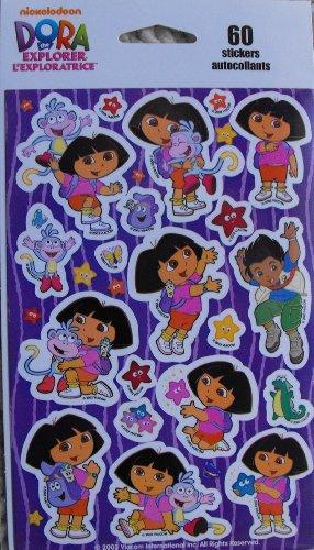 Dora the Explorer 60 Stickers