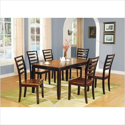 Abaco 7 Piece Dining Table Set in Multi-Step Acacia