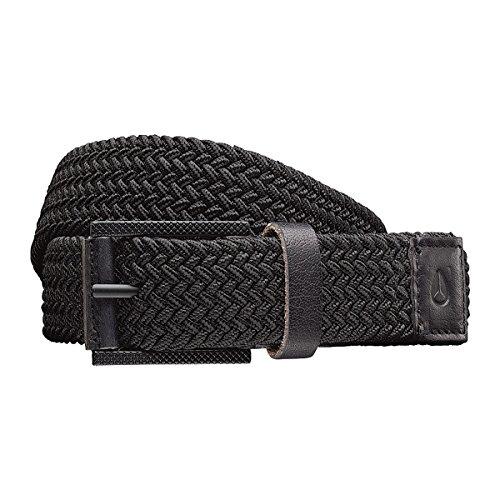 Nixon Americana Weave Belt All Black, XS/S