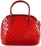 OMNESTA Office Women's Handbag (Red, DAZ015RED)
