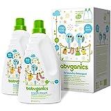 Babyganics Fragrance Free 3x Baby Laundry Detergent - 2 Pack (60 Ounce Bottle)