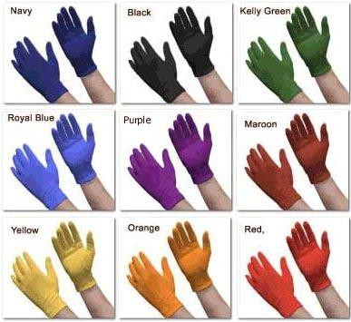 White Or Black Cotton Gloves Sold By Dozen Pair Xl Black