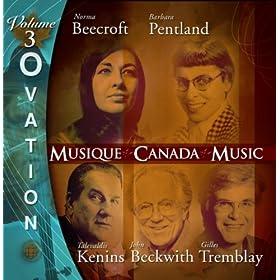 Ovation, Vol. 3: Music of Tremblay, Kenins, Beecroft, Beckwith and Pentland