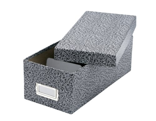 Oxford Reinforced Board 3 X 5 Card File With Lift Off