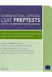 10 New Actual, Official LSAT PrepTests with Comparative Reading: (PrepTests 52-61) (Lsat Series)