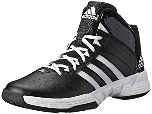 Adidas Performance Men'S Cross 'Em 3 Basketball Shoe, Core Black/Running White/Black 1, 10.5 D Us back-401428