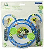 The First Years Mickey Mouse 4 Piece Feeding Set