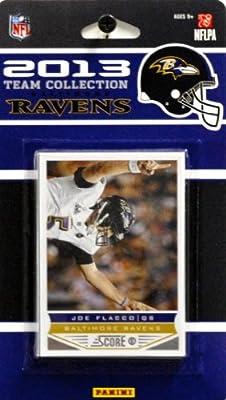 NFL Baltimore Ravens Licensed 2013 Score Team Set