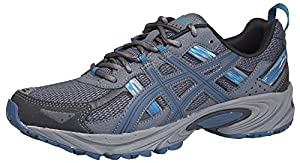 ASICS Men's GEL-Venture® 5 Running Shoe (10 D(M) US, Black/Ink/Ocean)