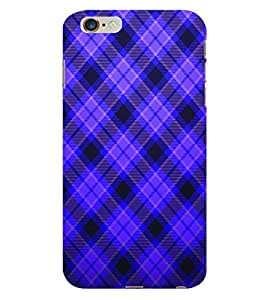 ColourCraft Check Pattern Back Case Cover for APPLE IPHONE 6 PLUS