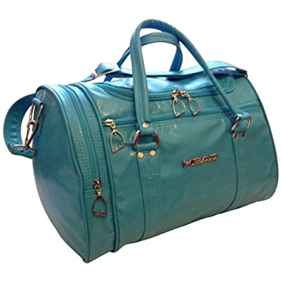 "Head Peacock Blue/Jade St Moritz Ladies 16"" Weekend Holdall, Gym, Sports Bag by Head"