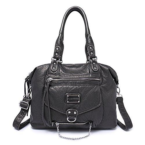 veevan-soft-leder-retro-hobo-schultertaschen-handtaschen-schwarz