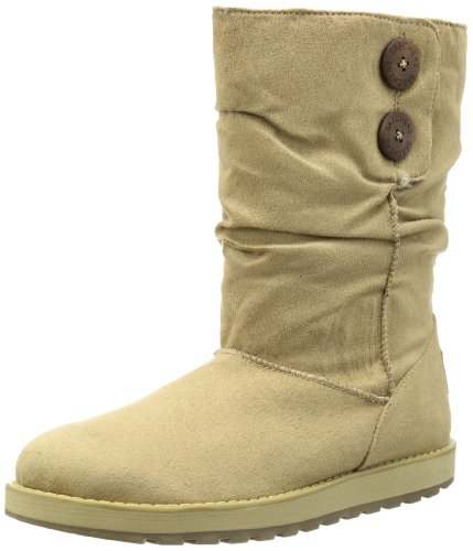 Skechers Women's Keepsakes Boiling Point Sand Mid Calf Boot 46872 8 UK