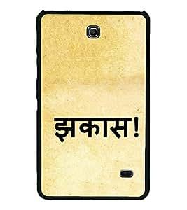 Jhakas 2D Hard Polycarbonate Designer Back Case Cover for Samsung Galaxy Tab 4 :: Samsung Galaxy Tab 4 T231