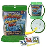 Sea Monkeys Ocean Zoo Set Miniature Tank with Magnifying Portals - GREEN
