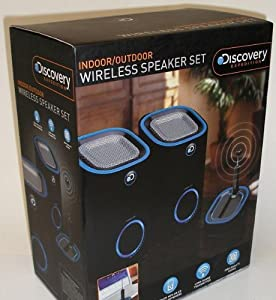 Discovery Expedition Wireless Speakers Set (Black) Outdoor/Indoor Portable Channel for Mp3 Player