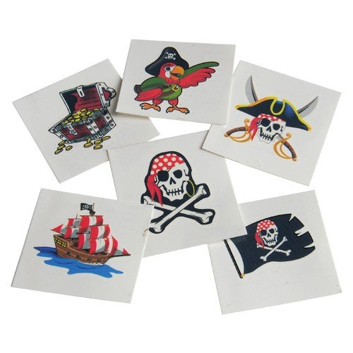 Pirate Tattoos : package of 144