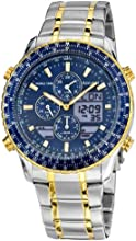 Comprar Accurist MB1031N - Reloj de cuarzo para hombres, correa de acero inoxidable, color multicolor