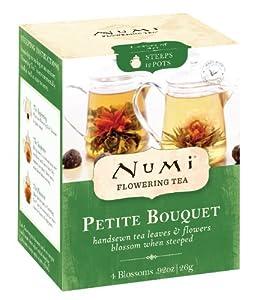 Numi Tea Petite Bouquet - Assorted Flowering Teas, 4 Count Box