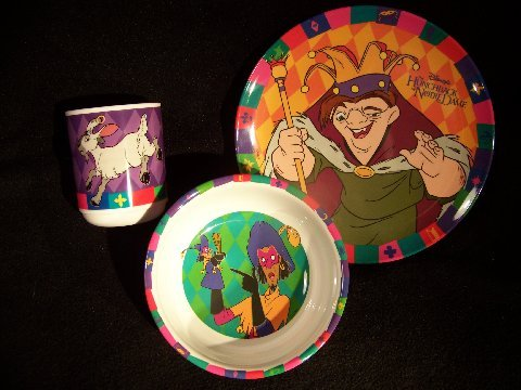 Disney's Hunchback of Notre Dame Dinnerware Set