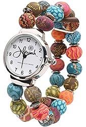 Women's Fimo Beaded Clay Watch