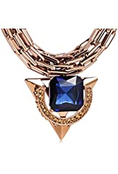 Overstate All-match Sapphire Pendant Necklace