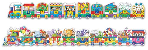 Cheap Fun The Learning Journey Puzzle Doubles Giant ABC & 123 Train Floor Puzzle (B001EY72Y8)