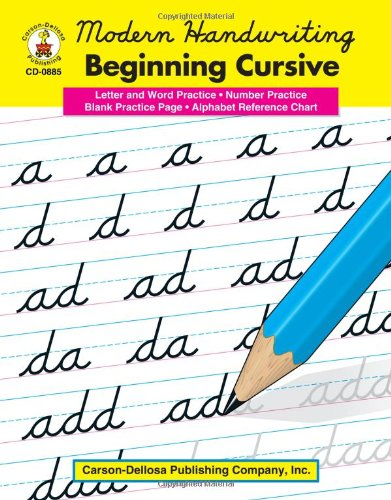 writing in cursive practice Explore discounts on cursive handwriting practice compare prices, & save money on brands such as createspace independent publishing platform, 0.