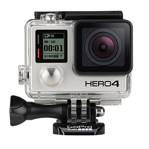 GoPro Hero4 Black Edition Action Camera w/ 12MP Camera & Built-In Wi-Fi