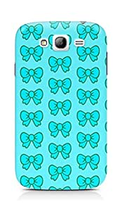 Amez designer printed 3d premium high quality back case cover for Samsung Grand Neo Plus (blue bows)