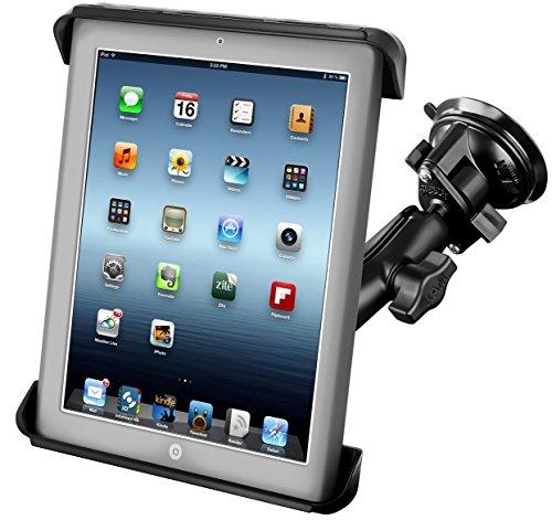 Ram Mount Tab-Tite iPad / Hp Touchpad Cradle Twist Lock Suction Cup Mount RAM-B-166-TAB3U
