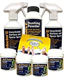 Large Bed Bug Fogger, Spray and Powder Killer Kit (Professional Products now available for Amateur Use)