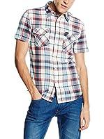 Lee Camisa Hombre Lee Westernss (Azul / Rojo / Blanco)