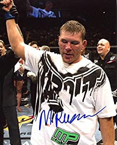 MIKE RUSSOW signed *UFC MMA* 8x10 Photo W/COA #7