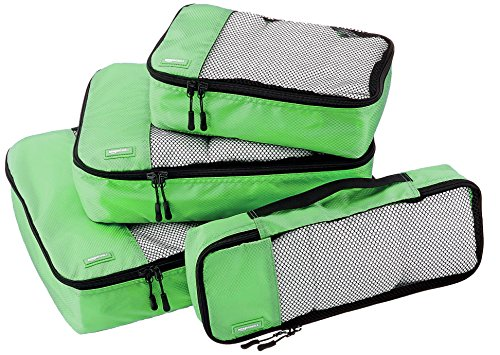 amazonbasics-4-piece-packing-cube-set-small-medium-large-and-slim-green