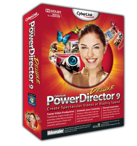 Powerdirector 9 Deluxe (bilingual software)