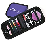 Best Sewing Kit for Home, Travel and Emergency Use - Mini Sewing Kit and Sewing Supplies for Kids, Girls Beginners and Adults - Perfect Sewing Kit for Prepper Supplies, Premium Quality Case and Sewing Accessories