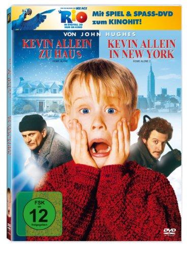 Kevin allein zu Haus / Kevin allein in New York (+ Rio Activity Disc) [2 DVDs]