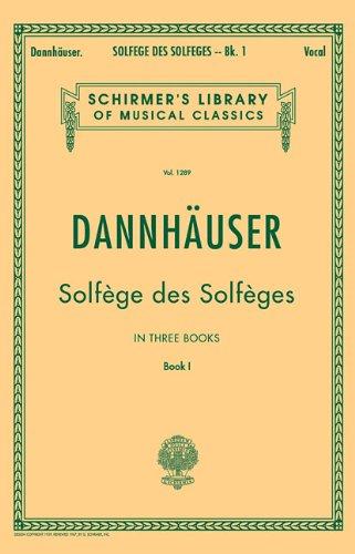 Solfege de Solfèges, Book 1 (Schirmer's Libary of...