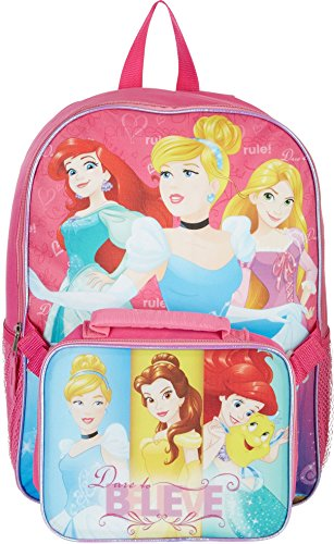 Disney Princess Dare To Believe Backpack One Size Pink multi (Goody Trolley compare prices)