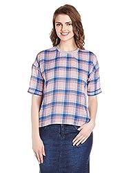 Lee Women's Tunic Top (LESH9138_multi color_Medium)