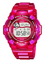 Casio Baby-G Damen-Armbanduhr rot Digital Quarz BG-3001-4ER