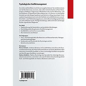 Psychologisches Konfliktmanagement: Professionelles Handwerkszeug für Fach- und Führungskräfte (e